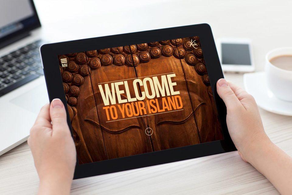 full screen responsive web design