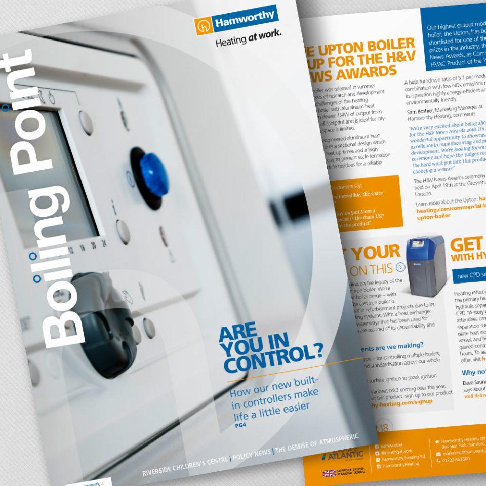 Hamworthy Heating magazine