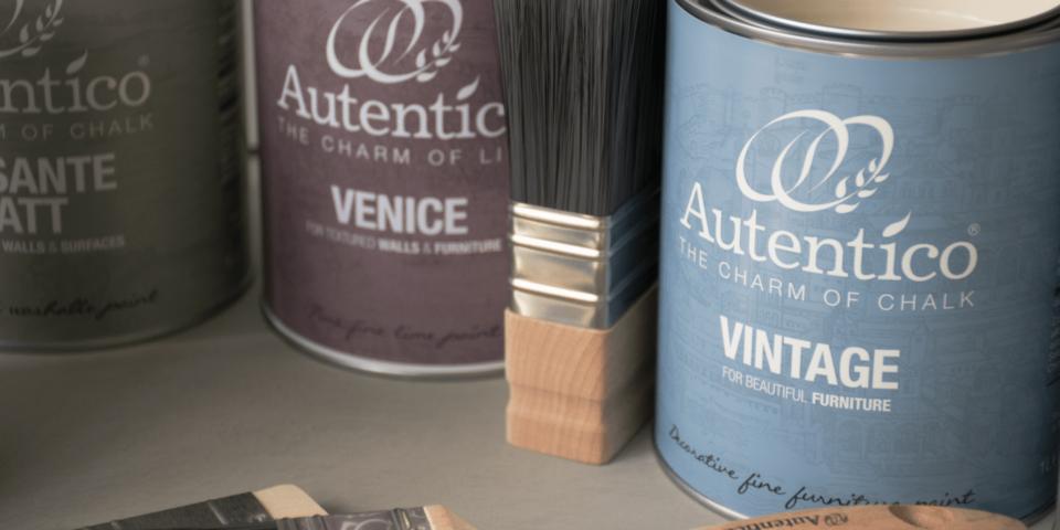 Autentico Paint labels