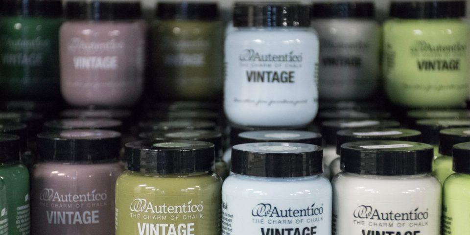 Autentico Paint packaging branding