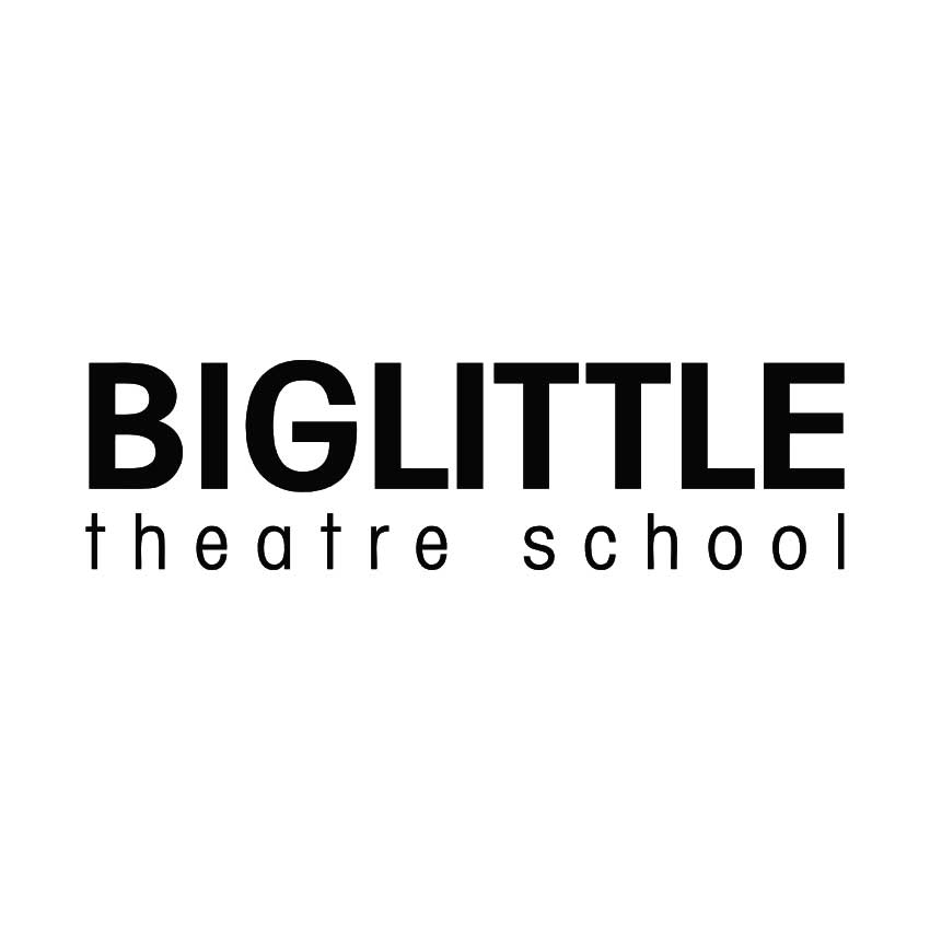 Big Little Theatre School Logo Tandem